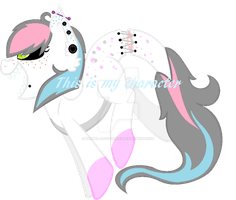 Creepy Cotton Candy Adopt (CLOSED) by Pastel-Adoptables