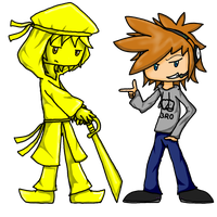 Stephano and Pewdiepie by Voxollous