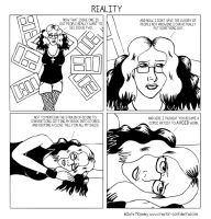 39. Reality by comicalclare