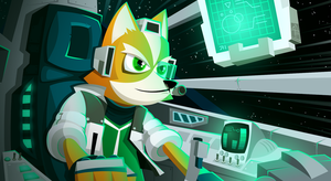 Fox McCloud (final) by placitte2012