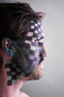 checkered face profile by emilyrosecaspe