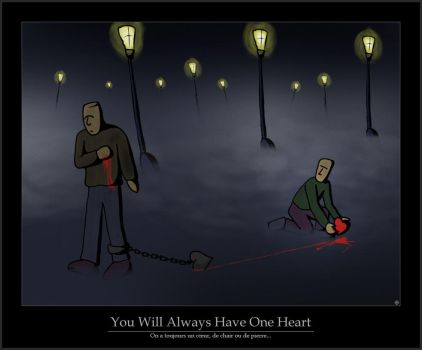 You Will Always Have One Heart by blackzer0