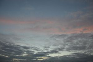 Grey and pink clouds by A1Z2E3R