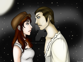 Eponine and Erik by Porcelain-Requiem
