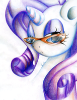Ms. Rarity by Hauntzor