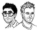 Jake and Amir by Funslinger