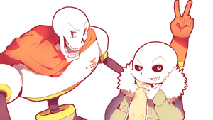THE BROS (Undertale) by MAR5HMA110W