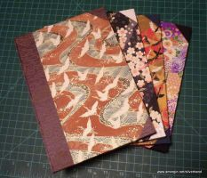 Bradel Bound Journals by usagibrian
