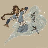 Katara's Little Fishies by myre