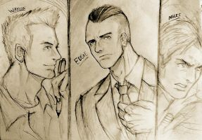 The Three Gentlemen (Outlast) Who's your favorite? by Tazaca