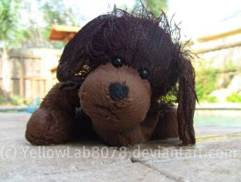 Webkinz Brown Dog by YellowLab8078