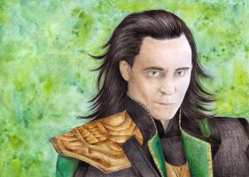 God of Mischief by Natalia-Luz