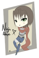 Ninja Adoptable [OPEN] by LaviFreakAdopts
