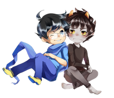 JohnKat Commission by minteaparty