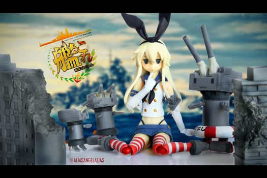 Shimakaze from KanColle by figma 05 by aliasangel2005