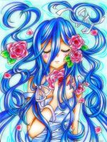 Weeping Blue by Colorful--Melody