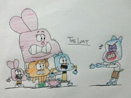 The Amazing World of Gumball - The Limit by AngryBirdsStuff