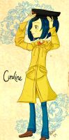 For my Mom: Coraline by MiyomotheCat