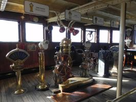 The Queen's Wheelhouse by omega-steam