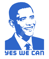 BARACK OBAMA-YES WE CAN by griffinpassant