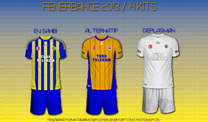 Fenerbahce 2013 / 14 Kits by napolion06