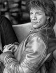 Black + White Jon Bon Jovi by cuteblackkat