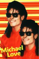 Michael in Red by IloveMJ09