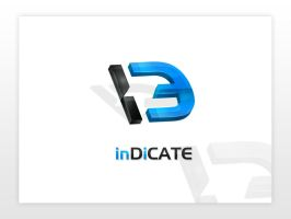 inDiCATE logo design by dsquaredgfx