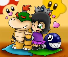 AT with javibros132: Baby Bowser and Baby Devora by SuperLakitu