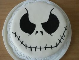 Jack Skellington Cake by VulpesLupina