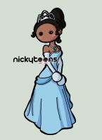 Disney Princess: Tiana by NickyToons