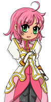 Tales of Vesperia -- Estelle by Selaphi