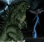 A God for all intents and purposes (Godzilla 2014) by kaijugroupie84