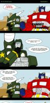 Transformers 4 - revenge of the... I don't know by Comics-in-Disguise