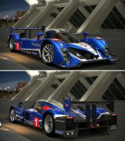 Peugeot 908 HDi FAP - Team Peugeot Total '10 by GT6-Garage
