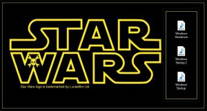 Star Wars Startup and Shutdown Sounds for Windows by Drudger