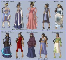 Katara Fashions by JBarnzi88