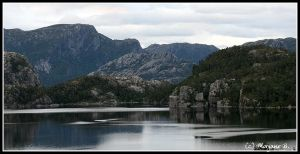 near Preikestolen I by moem-photography