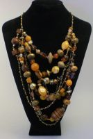 Dripping Honey Necklace by RetroRevivalBoutique