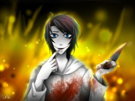 Jeff the Killer - Arsons by DeluCat