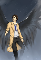 SPN - Castiel by ithili3n