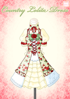 Country Lolita Dress by Neko-Vi