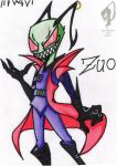 Invader Zuo by TheLittleRaven