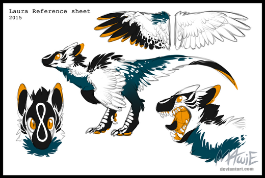 Laura reference sheet by M4WiE