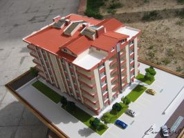 Architectural Scale Model  4 by COZEL