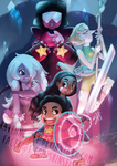 We Are the Crystal Gems (and Connie) by ShiChel
