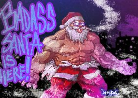 Gouken is BADASS SANTA by Demokun by Demokun54