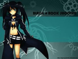 Art Trade: Black Rock Shooter by miyusapphire23