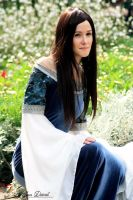 Arwen Requiem Dress LotR by oelfe