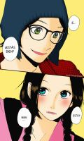 Hirunaka No Ryuusei capitulo 1 by akumaLoveSongs
